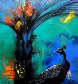 Pradip Sen Gupta Painting