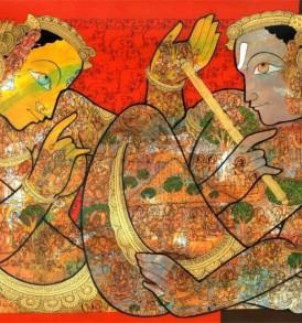Ramesh Gorjala Painting