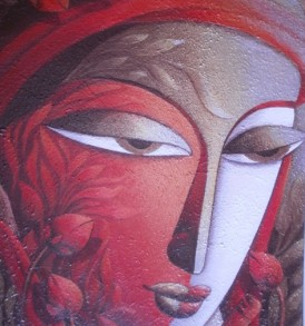 Dhananjay Mukherjee Painting