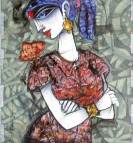 Dhiren Sasmal Painting