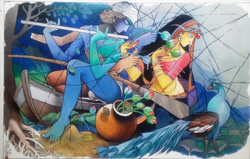 Super Biplab Biswas - Indian Art PlaceIndian Art Place VN87