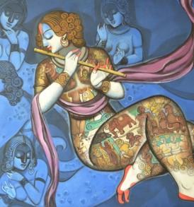 Kishore Roy Painting