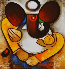 Om Swami Painting