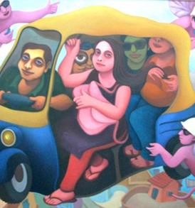 Murchhana Banerjee painting