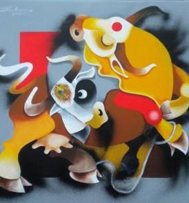 Uttam Manna Painting
