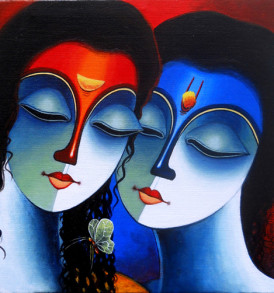 Santosh Chattopadhyay Painting