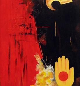 Debashis Mukerjee Painting