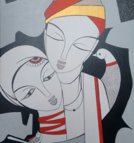 Dalip Chandolia Painting