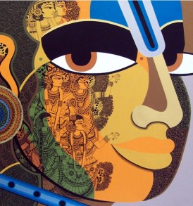 Nagesh Goud Painting