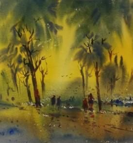 Sunil Bambal Painting