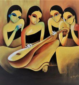 M. Hosakoti Painting