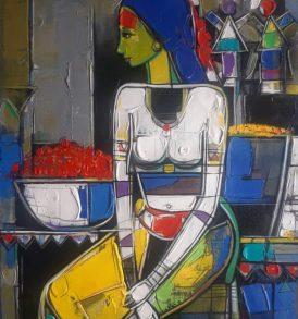 Girish Adnnavar Painting