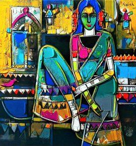 Girish Adannavar Painting