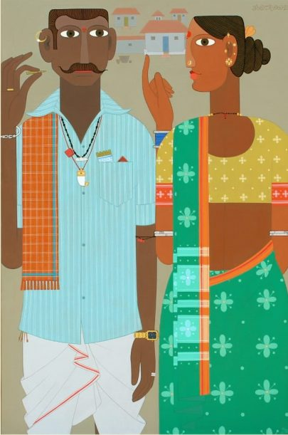 Kandi Narsimlu buy on IndianArtPlace.com